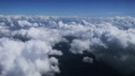 4K:Sky and cloud on the plane video