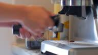 4K:Step by step to make espresso video