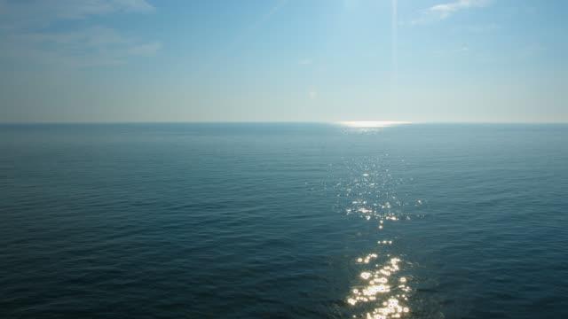 4K:Sunrise at sea video