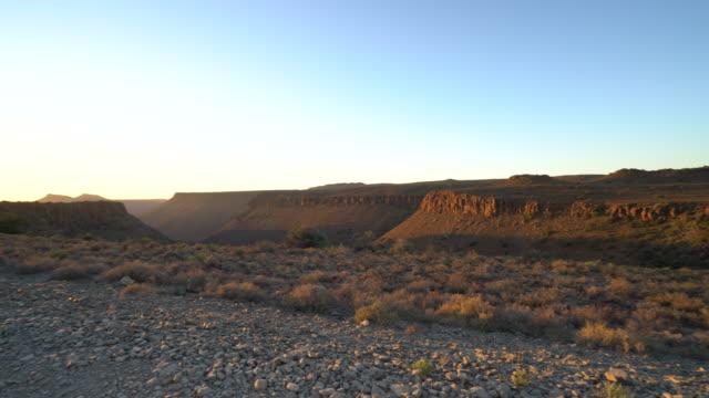 4K-Sunrise over Karoo National Park, Cape Province, South Africa video