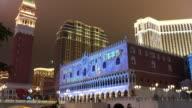 4K:The Venetian Macao,Panning shot video