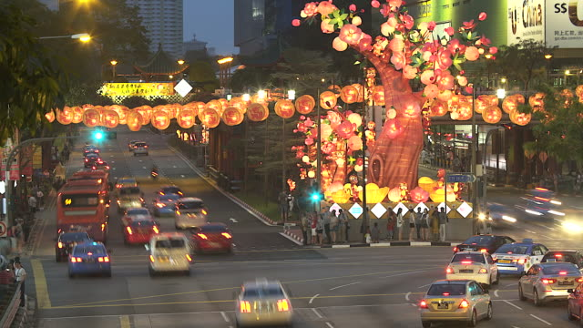 4K:Time lapse:Lantern festival,Lunar new year cerebration. video