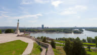 4K:Victor Monument in Belgrade, Serbia video