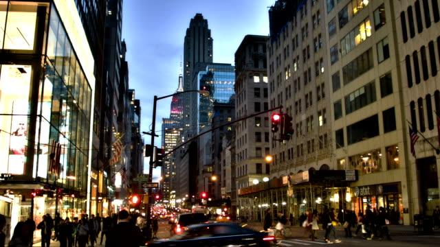 5th Avenue & 48th Street Manhattan video