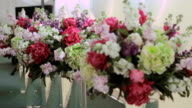 a bridal bouquet of flowers video