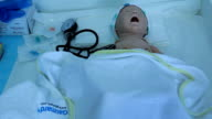 a CPR dummy for training of the students (interns) video