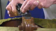 a luthier replaces the touch of a cello video