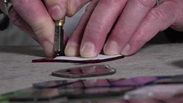 a master glazier rebuilt stained glass video