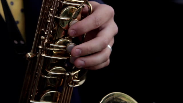 a young saxophonist video