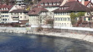 HD: Aare River in Bern video