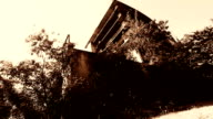 Abandoned building in Chiangmai Thailand video