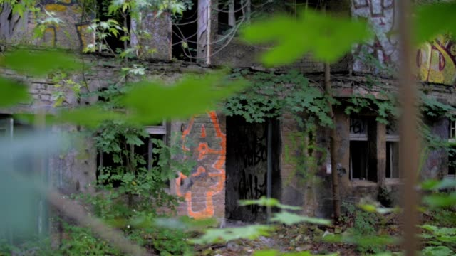 Abandoned buildings video