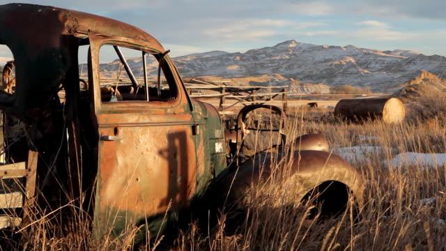 Abandoned car video