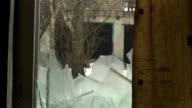 Abandoned home 23. Broken window video