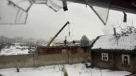 Abandoned Home 35. Dismantling video