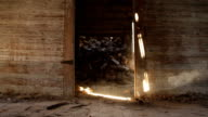 Abandoned House - Doorway video