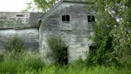Abandoned house. video