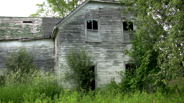 Abandoned house. video