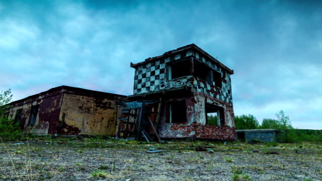 Abandoned military airfield video