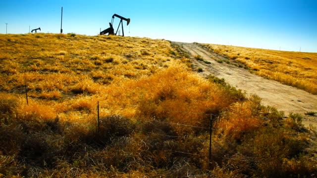 Abandoned oil Pump video