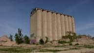 Abandoned Silos. Two shots. video