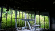 Abandoned swimming pool in Pripyat video