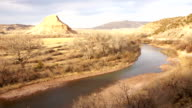 abiquiu new mexico time-lapse video