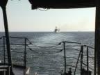 Aboard a warship video