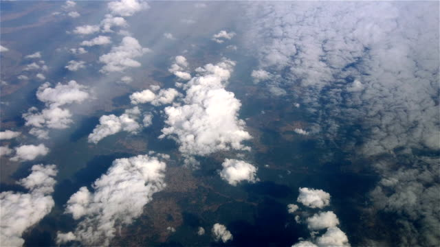 Above Puffy Clouds video