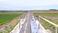 above railway video