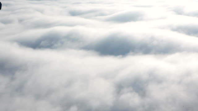 HD - Above the clouds, flying in the air video