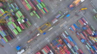 AERIAL above:cargo container video
