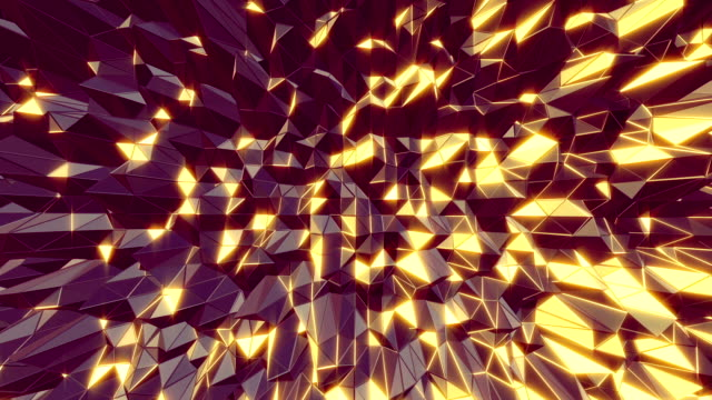 Abstract 3D cool manga style moving background. Seamless video
