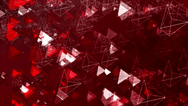 Abstract Animated Pyramids video