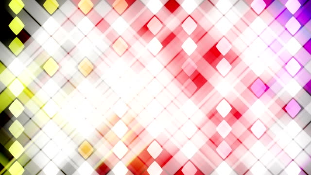 Abstract animation of changing lights video