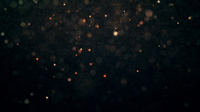 abstract animation of flying particles with motion blur video