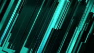 Abstract aquamarine lines background video