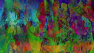 Abstract art video