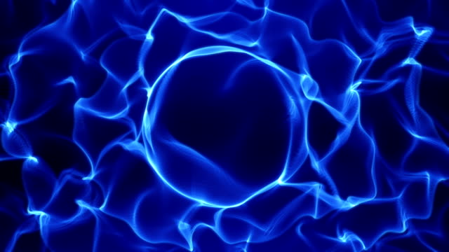abstract background - flames (loop) video