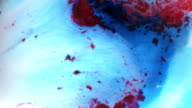 Abstract Background Food Colour on Milk video