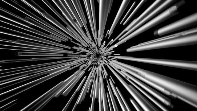 Abstract background in metallic color on black video