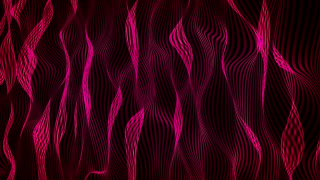 Abstract background in purple on black video