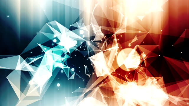 Abstract background multicolor shiny loop video
