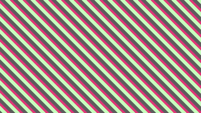 Abstract background seamless loop of stripes pattern with Pastel Color Style. video
