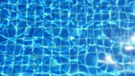 Abstract background - water in pool (loop), 4k(UHD) video