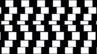Abstract background with geometric optical illusion pattern. video
