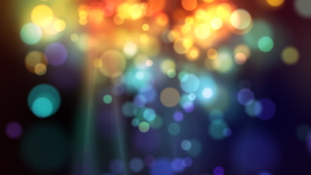 Abstract  background  with shining particles video