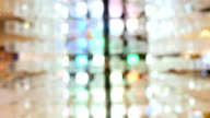 Abstract background with transparent squares video