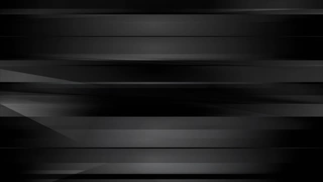 Abstract black tech stripes video animation video