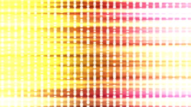 Abstract blinking lights loop video